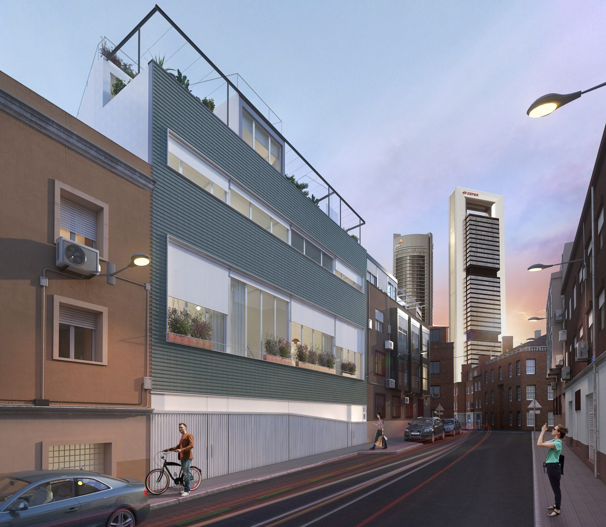 apartamentos4torres hidradesign FACHADA